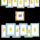 This download includes 30 colorful borders and frames in PNG format (300 dpi) for crisp clear color even when enlarged to a full page.   FREE borders (clipart to commercial use!)