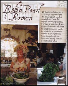 Magnolia Pearl ❤•❦•:*´¨`*:•❦•❤ Robin Brown.