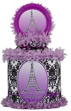 Paris in purple Pinata