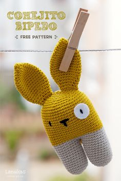 Amigurumi Animal - FREE Crochet Pattern / Tutorial. English version of pattern further down the side.