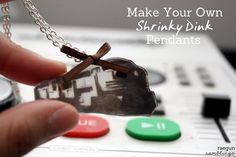 Tutorial: Shrinky Dink Pendants (yes mine may be a Dauntless Train from Divergent) - Rae Gun Ramblings