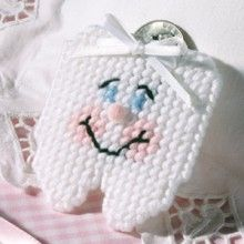 Tooth Fairy Pouch Plastic Canvas Pattern ePattern