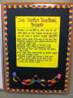 Classroom Managment Idea
