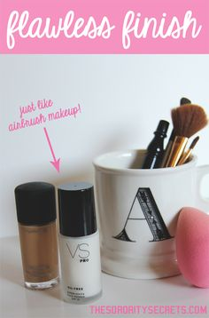 How to get the airbrush look. The Sorority Secrets :)