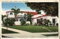 Lupe Velez's Home   Beverly Hills California     cardcow.com beverly hills, hill california, spectacular properti, lupe velez, random pictur, bever hillscalifornia