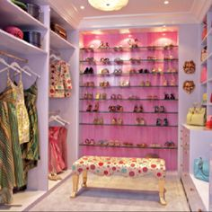 love the shoe display one day, closet designs, dream closets, oneday, walks, dreams, shoe display, pink shoes, shoe racks