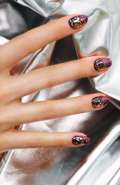 Glitter nails #nailart #nails