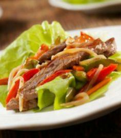 LOW-CARB Beef Taco Lettuce Wraps | via @SparkPeople #food #recipe #healthy #meal #Mexican