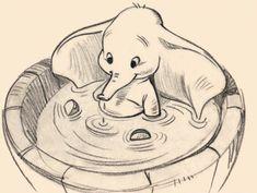 Dumbo, one of my very favorite Disney movies.
