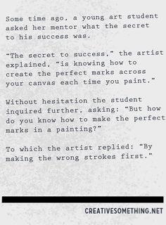 A Conversation Between a Student and Mentor #creativity #inspiration