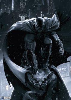 Batman: Arkham Origins Poster, available in Games Master magazine