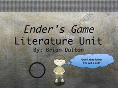 Enders Game Novel Study from Toes in the Sand on TeachersNotebook.com -  (119 pages)  - This epic and affordable novel study is for the science fiction novel, Ender's Game, written by Orson Scott Card.