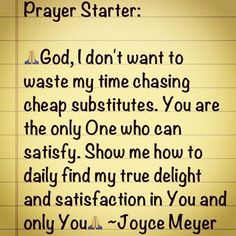 Joyce Meyer Quotes on Pinterest  Joyce Meyer, Quote and Prayer