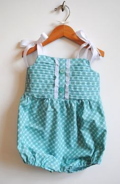 Bubble Romper, Pleated, Plaid, Argyle, Eyelet, Bows, Baby Girl, Toddler, One Piece Outfit, Sizes Newborn to 2T, Summer Clothing