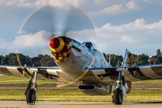 NAA P-51 Mustang, Old Crow,  OSH/KOSH by GlennB25, via Flickr