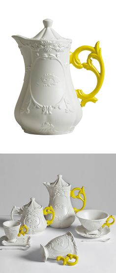 Scroll teapot