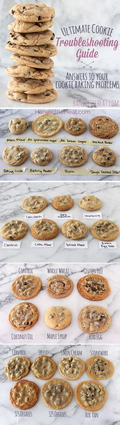 Ultimate Cookie Troubleshooting Guide answers ALL YOUR COOKIE QUESTIONS so you can make *perfect* cookies!! Amazing!