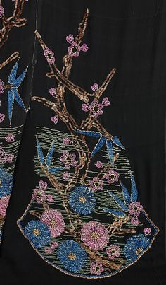 Lipska  (Polish, 1882–1973), Silk, Metal, 1920-29