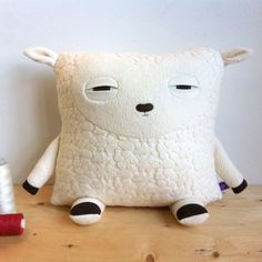 velvet moustach, sleepy time, craft, lambs, cushions, sheep cushion, moustaches, sleepi sheep, pillows