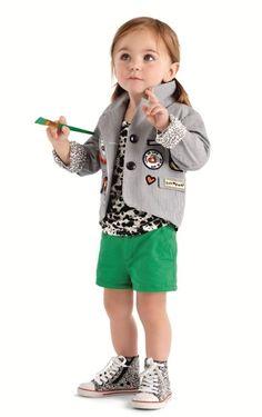 DVF for Gap Kids - so cute girl style