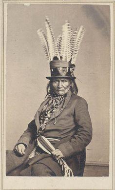 Chippewa man in Washington, D.C. 1862