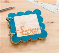 Showcase your summer memories with this fun mini album!