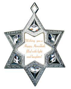 Happy Hannukah Vintage Star