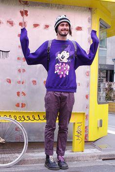 ストリートスナップ [Horton]   Dr.Martens, Maple, vintage, WEGO   原宿   2012年03月08日   Fashionsnap.com