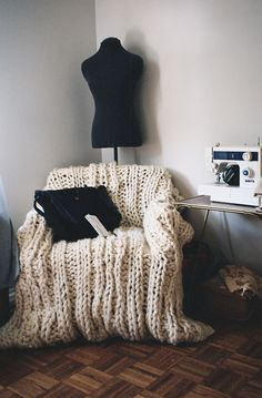 cozy office reading corner