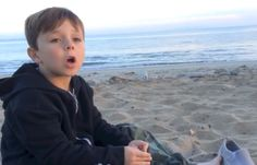 Adorable little boy begs America to boycott SeaWorld on his birthday.  I LOVE this video. The end when he tips over is SO cute!