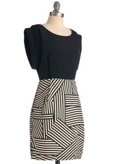 showers, strike, vintag dress, style, dresses, compliment dress, stripe, geometri, geometry