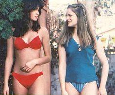 Phoebe Cates and Jennifer Jason Leigh