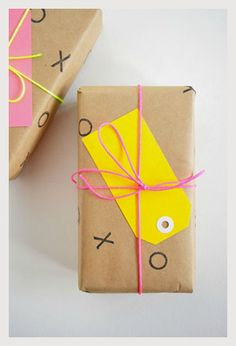 Homemade XOXO wrapping paper #craft #diy