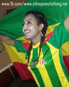 Ethiopian National Football Team Jersey