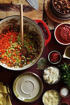 Lasagna Soup by thecandidappetite #Soup #Lasagna