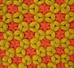 crochet stitch to show off pretty yarn - Google Search