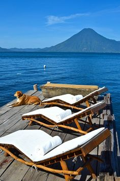 Lake Atitlan, Guatemala - Volcanic views from luxury eco-lodge, Laguna Lodge #Guatemala #travel #lakeatitlan