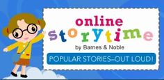 """Online Storytime by Barnes & Noble. """"Listen to Reading."""""""
