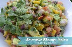 Mango Salsa w/Avocados: Delicious and Addicting