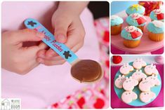 Peppa Pig Twins Party with LOTS of CUTE IDEAS via Kara's Party Ideas | KarasPartyIdeas.com #Pig #Party #Ideas #Supplies (3)