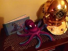 Pinner Says: My Crochet Otto #OttoandVictoria #octopus #briankesinger. Pattern from Ravelry: http://www.ravelry.com/patterns/library/octavio-the-octopus