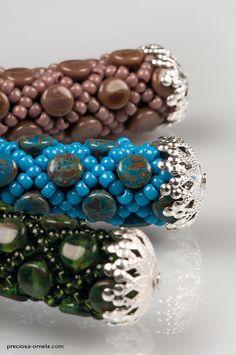 Pellet Beads: Travertine - Jana Bukovská | Flickr - Photo Sharing!