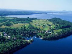 An amazing Vermont hotel and resort on the shores of Lake Champlain - Basin Harbor Club
