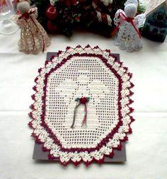 crochetfilet, christmas angels, angel hand, angel filet
