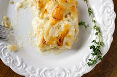 Homemade Scalloped Potatoes
