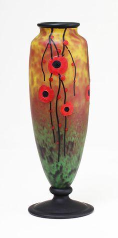 Schneider Art Deco vase