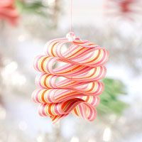 Ribbon Candy Ornaments - looks almost good enough to eat!
