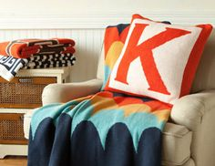 I pinned this from the Happy Habitat - Chevron, Greek Key & Graphic Throws & Pillows event at Joss and Main!