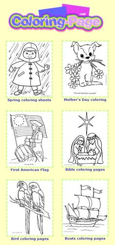 Coloring pages - Free & Printable