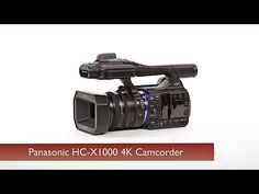 Panasonic HC-X1000 - more pro than you'd expect from a camcorder www.motionvfx.com/B3624 #DSLR #Video #Camera #Panasonic #VideoEditing